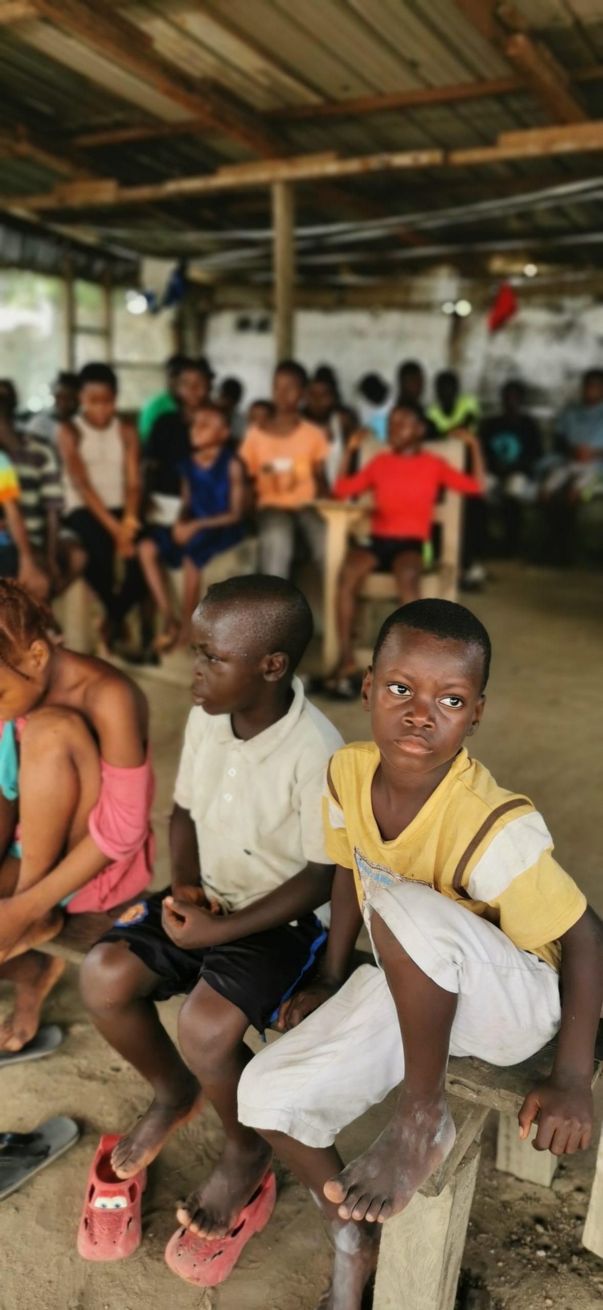 Orphans in Liberia