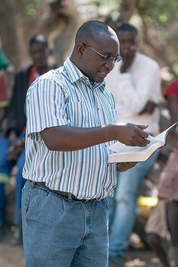 Christian minister in Namibia