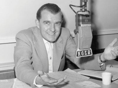 Jack McAllister on the radio