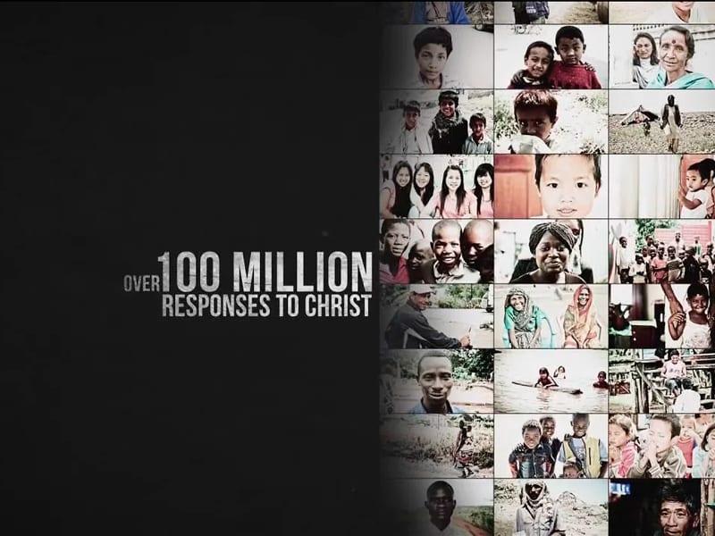 100 million responses to Christ