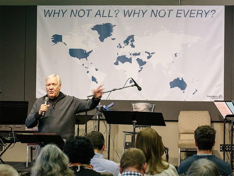 Dick Eastman speaking