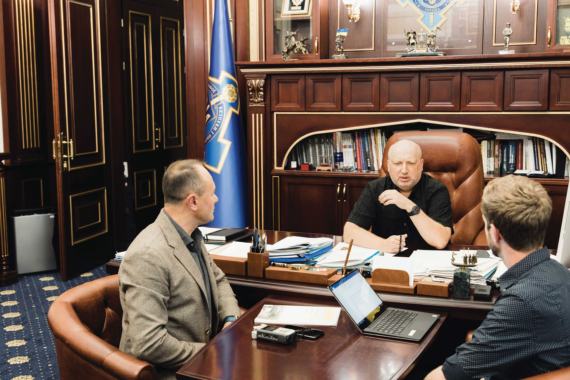 Meeting with Ukrainian minister