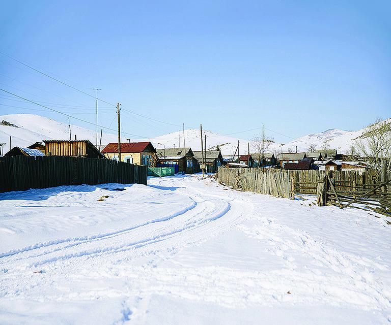 Village in Siberia