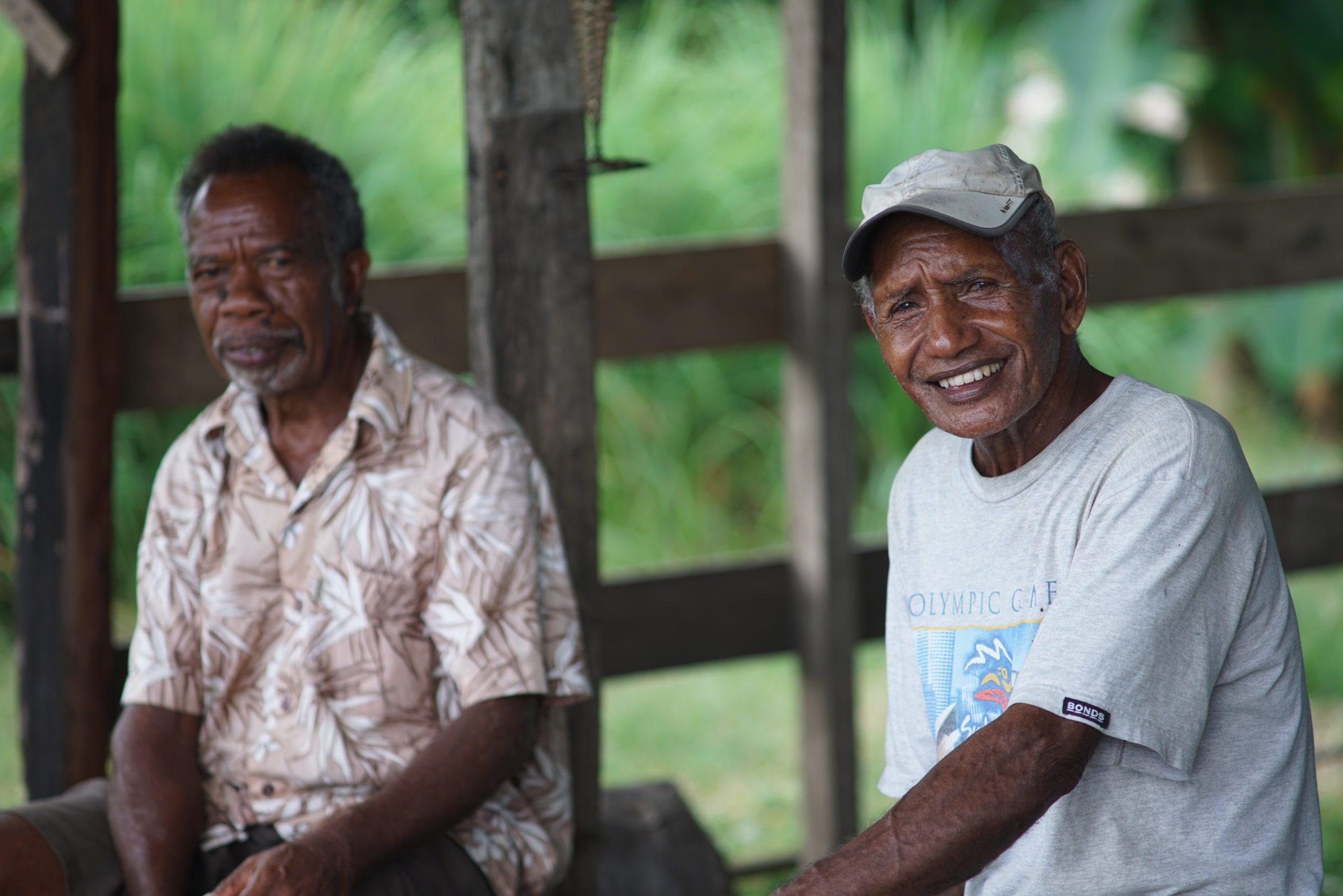 Men in Solomon Islands