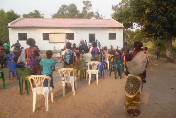 Christ group meeting in Mozambique.