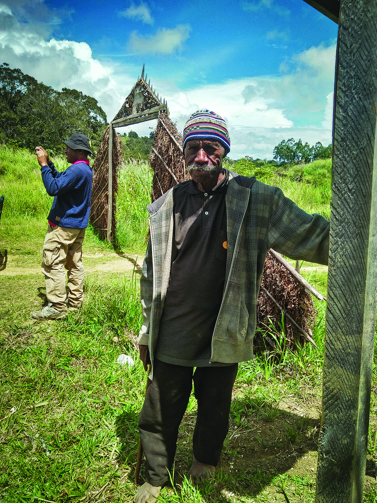 Older Papua New Guinea man