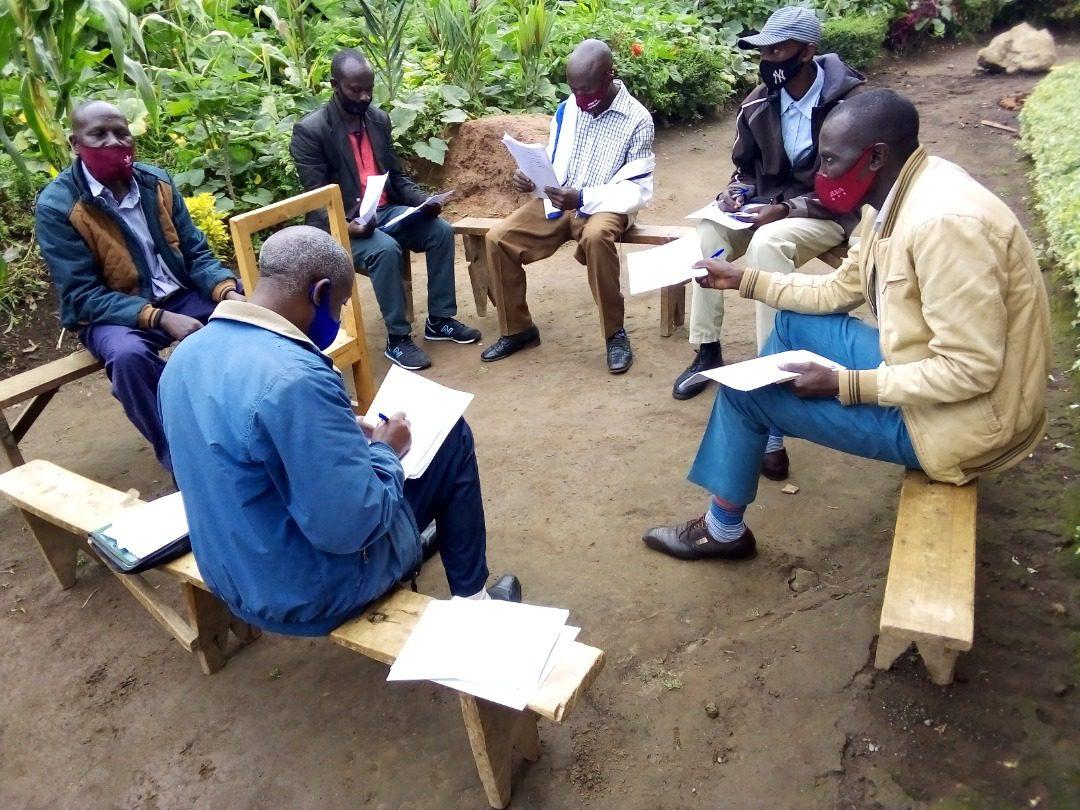 Bible study in Rwanda
